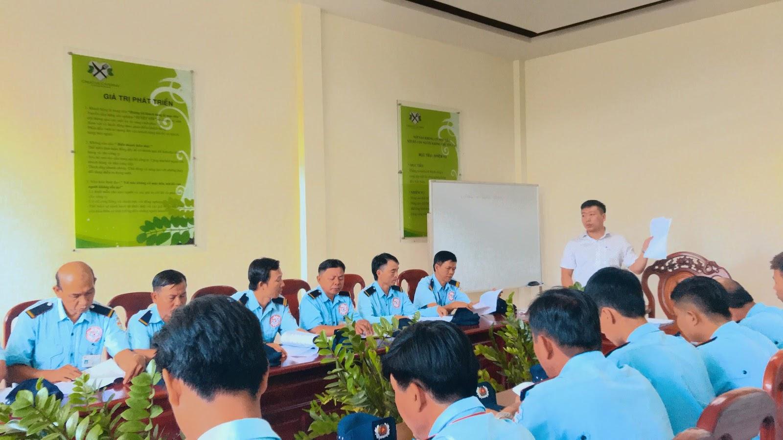 Dịch vụ bảo vệ ngân hàng chuyên nghiệp của công ty CP DV Hải Dương