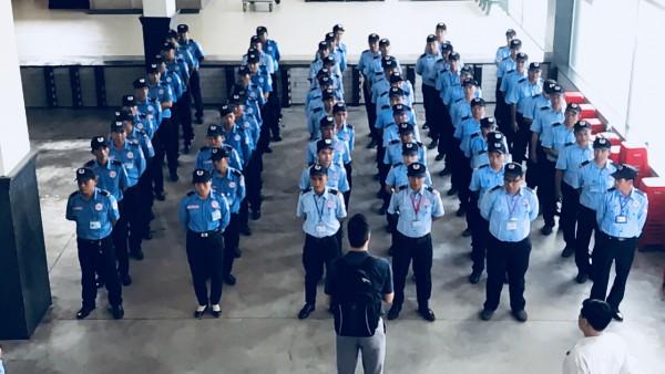 Tổ chức đội ngũ bảo vệ tại Công ty CP DV Bảo vệ Hải Dương